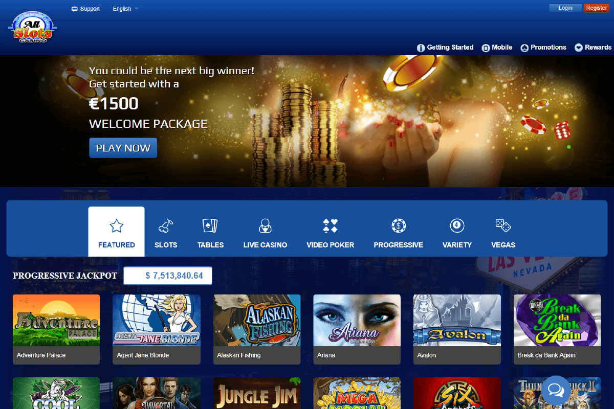 All Slots Casino Review Online Casino Usa